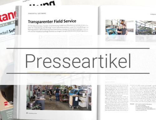 Presseartikel – Instandhaltung Ausgabe 6