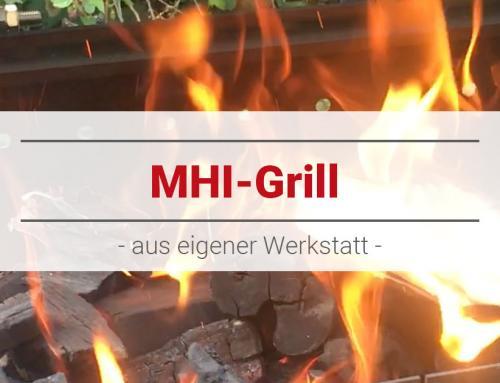 MHI-Grill aus eigener Werkstatt